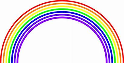 Rainbow Background Clip Transparent Clipart Vector Clipartmag