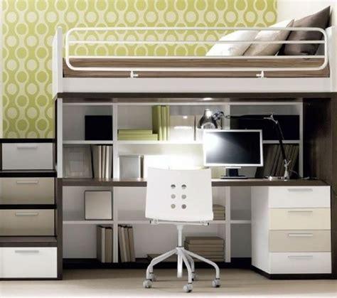 Canapé Lit Italien - lit mezzanine 2 places avec bureau bureau idées de