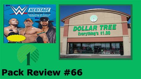 Pack Review #66 Dollar Tree 2015 Topps Wwe Heritage 3