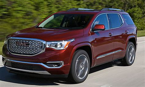 2019 Gmc Acadia Review And Mpg  Trucks Reviews 2019 2020