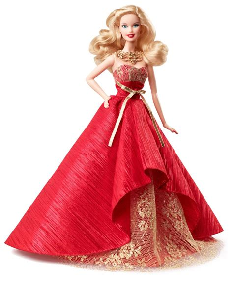 amazon com barbie collector 2014 holiday doll toys games