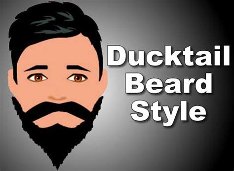 Ducktail Beard Style How To Grow Trim Style And Shape