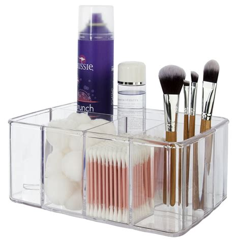 Vanity Makeup Organizer - bathroom vanity makeup cosmetic organizer box tray storage