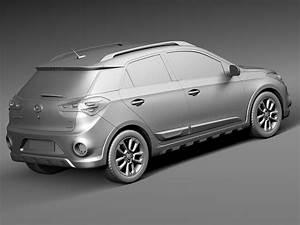 Hyundai I20 2016 : hyundai i20 active 2016 3d model max obj 3ds fbx c4d lwo lw lws ~ Medecine-chirurgie-esthetiques.com Avis de Voitures