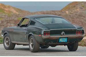 Steve McQueen's 'Bullitt' Mustang on the Auction Block - TheStreet