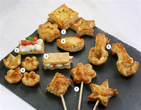 canapes filling recipe puff pastry to cook