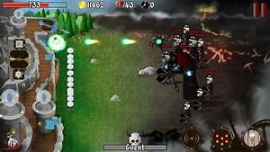 Design Zombie Grim Defender Castle Tower Defense