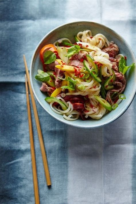 thai beef noodle salad extract  lean