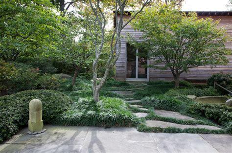 Japanese Style Garden by Designer Visit A Garden Inspired By Japan In Westchester