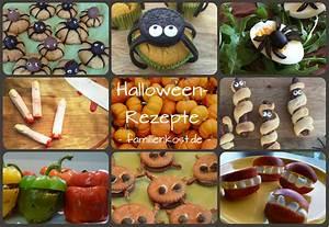 Gruselige Bastelideen Zu Halloween : halloween rezepte f r die kinderparty ~ Lizthompson.info Haus und Dekorationen