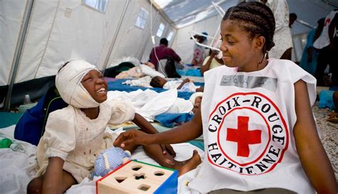 earthquake relief disaster relief american red cross