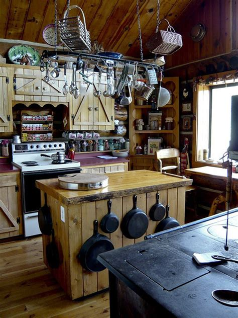 rustic country kitchen homemydesign