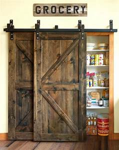 sliding barn door ideas to get the fixer upper look With 20 inch barn door