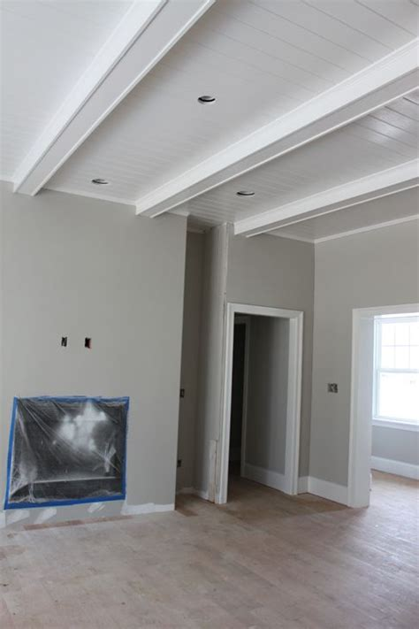 White Ceiling Beams Decorative - my inspired home around the house ceiling