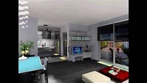 Appartement F2 Définition : freed 39 home d coration cannes visite virtuelle d 39 un appartement youtube ~ Melissatoandfro.com Idées de Décoration