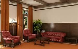 Un canape chesterfield le chic et le confort a la maison for Tapis oriental avec canapé chesterfield menzzo