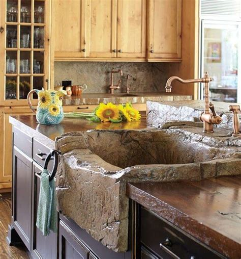 rustic kitchen sink 26 farmhouse kitchen sink ideas and designs for 2019