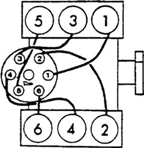 firing order diagram v8 four wheel drive automatic 100 000 miles
