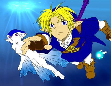 Link And Ruto Fan Art