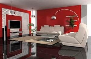 imposing couleur interieur salon moderne mur peinture With decoration d interieur salon