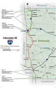 Future Interstate 49 Arkansas Map