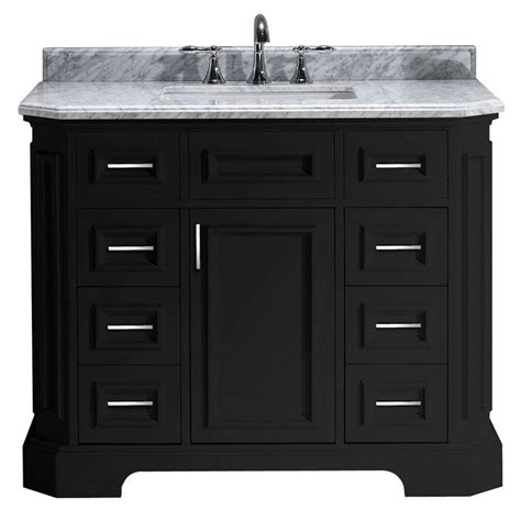 42 inch white vanity with marble top 17 best ideas about 42 inch bathroom vanity on