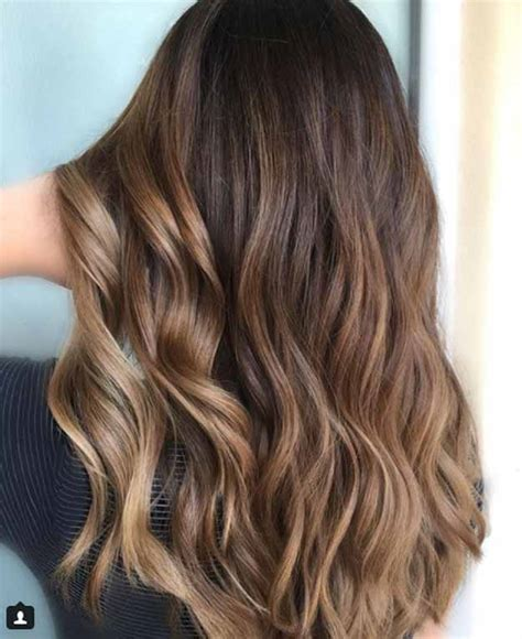 balayage braun caramel 41 balayage hair ideas in brown to caramel shades the goddess
