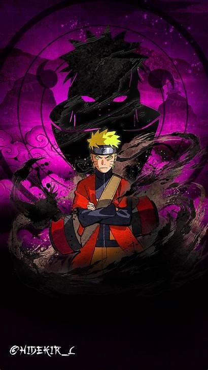 Naruto Wallpapers Gambar Anime Purple 5kl Keren