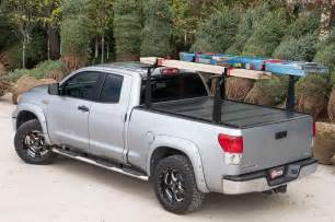 2005 2016 nissan frontier hard folding tonneau cover rack