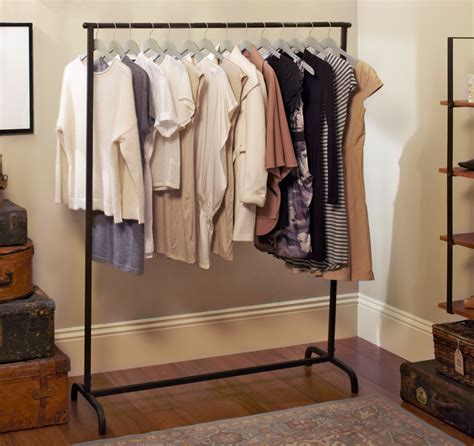 clothes racks for small space living clothing storage in tiny apartments