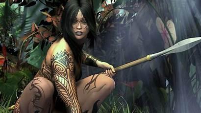 Warrior Woman Artwork Wallpapers Wallpapers13
