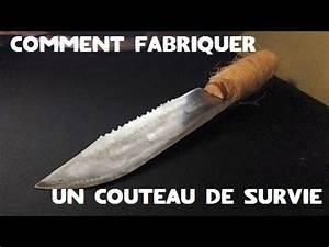 Comment Aiguiser Un Couteau : fr comment fabriquer un couteau de survie youtube ~ Melissatoandfro.com Idées de Décoration
