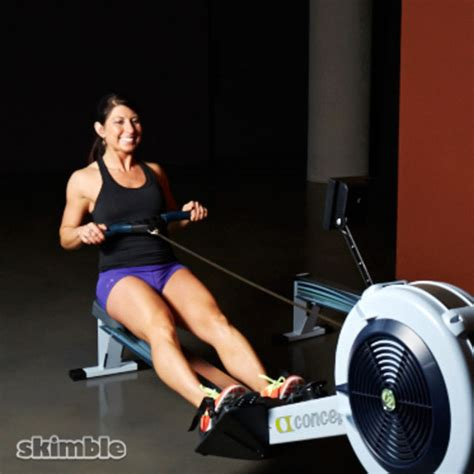 Rock The Boat Workout by Moderate Rowing Exercise How To Workout Trainer By Skimble