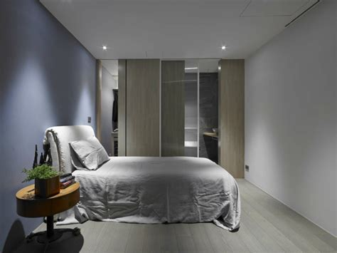 cuisine sejour meme appartement design à l ambiance minimaliste à taipei
