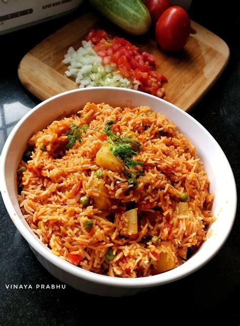Tava Pulao Recipe - Vinaya's Culinary Delights