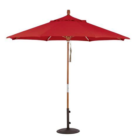 11 ft led offset patio umbrella in yjaf052