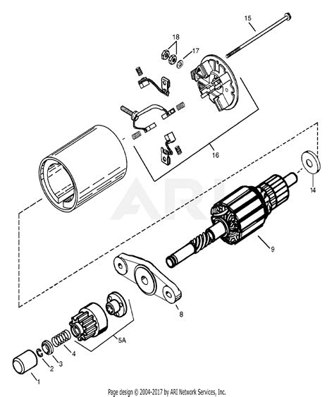 Bendix Starter Part Diagram by Mtd 13a2682f190 Lt 15 2003 Parts Diagram For Starter