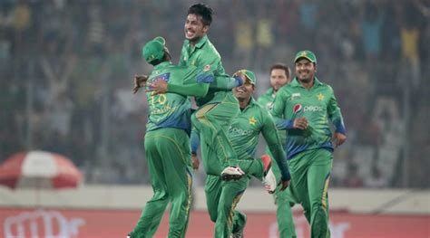Pakistan Beat Uae Seven Wickets The Indian Express