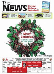 The News North Canterbury 17-12-15 by Local Newspapers - Issuu