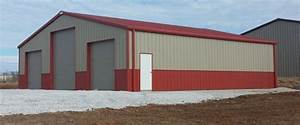 40x60 steel garage kit simpson steel building company 4060 With 40x60 garage cost