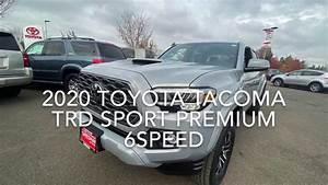 2020 Toyota Tacoma Double Cab Trd Sport Premium Manual