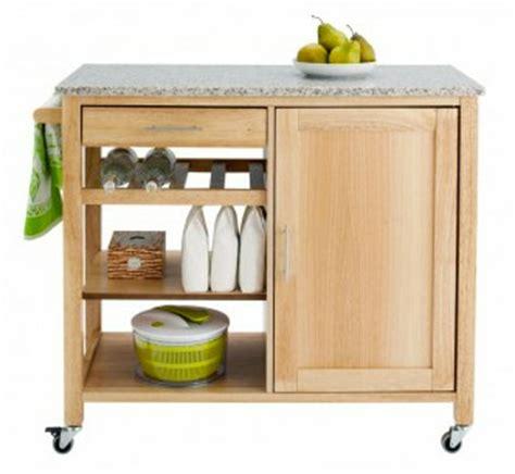meuble de cuisine fly desserte de cuisine bois et granit fly