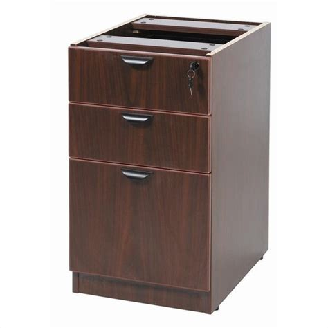 3 Drawer Filing Cabinet Wood by 3 Drawer Lateral Wood File Cabinet In Mahogany N166 M