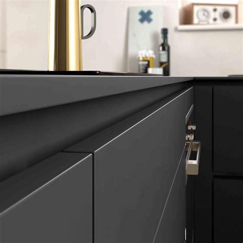cuisine sans poignee 25 best ideas about cuisine noir mat on noir