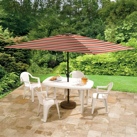 patio umbrellas rectangular dining tables sets for small