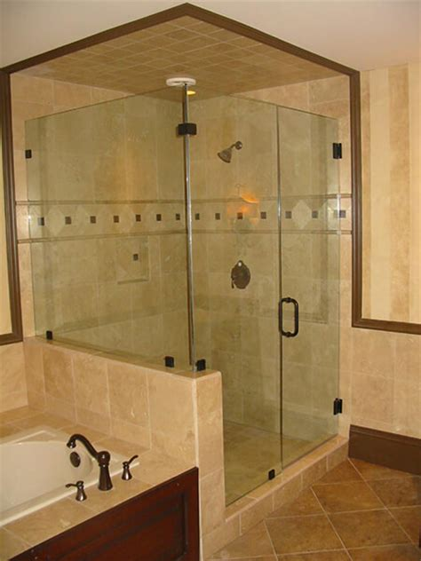 glass shower stalls custom glass gallery raleigh shower enclosure gallery