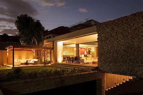indoor outdoor home design multi level garden house  el