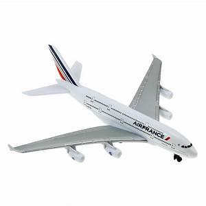 Avion jouet A380 Air France (nouvelles couleurs) - SOCATEC