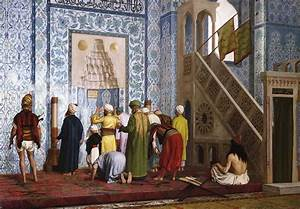 The Blue Mosque Painting by Jean Leon Gerome