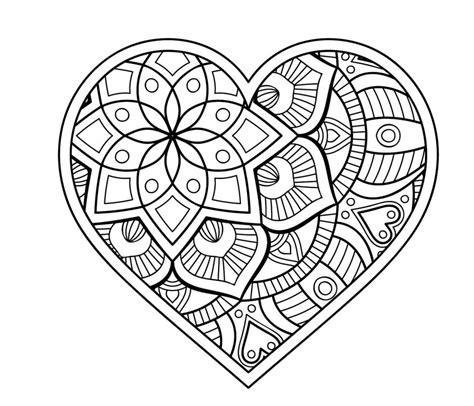 mandala malen für erwachsene malvorlage herz mandala mandala coloring pages mandala coloring und coloring sheets